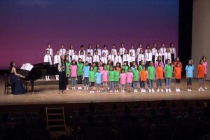 2011.11.6 合唱「ありがとう」 写真